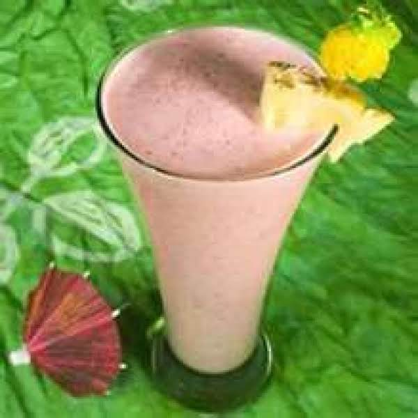 Strawvberry Pineapple Smoothies