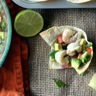 Shrimp and Avocado Ceviche Cups Recipe