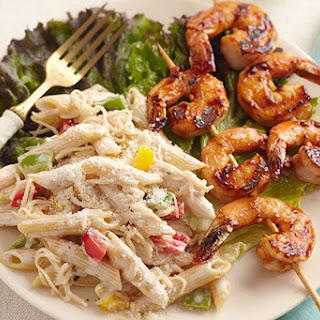 BBQ Shrimp-Pasta Salad