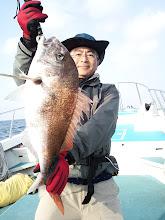 Photo: のっ込み真鯛!