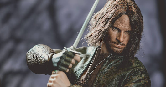 ACI TOYS 1:6 Lord of the Rings Aragorn, photography by Jingobell