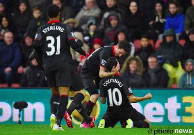 Liverpool a pu compter sur Mignolet et sur la frappe lumineuse de Coutinho