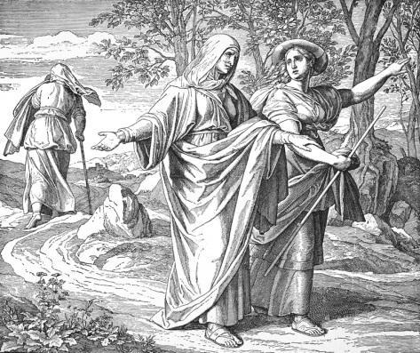 Bilder der Bibel - Naemi und Ruth