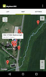 Skyhost GPS - náhled