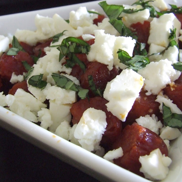 Sausage with Feta Cheese
