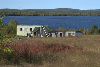 Photo: hökkelikylää Alajärven rannalla