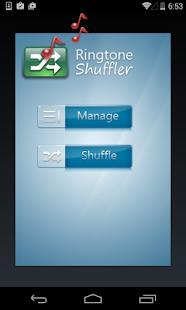 Ringtone Shuffler- screenshot thumbnail