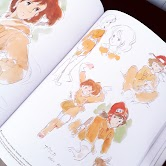 Watercolor Artbook of Nausicaa