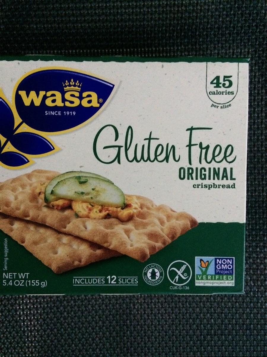Gluten Free Original Crispbread