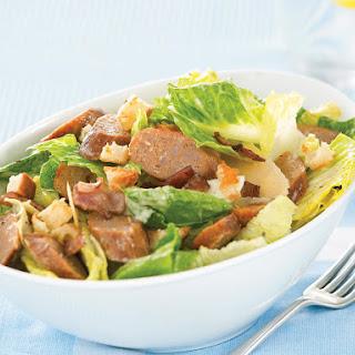 Sausage Caesar Salad.