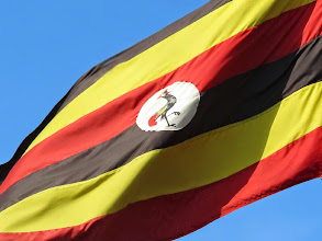 Photo: Flag of Uganda