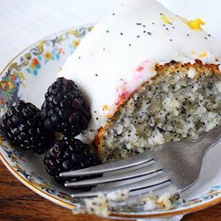 Lemon Poppy Seed Cake [Vegan].