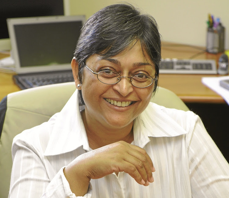 Leading HIV/AIDS researcher Quarraisha Abdool Karim has been awarded an honorary doctoral degree by the University of Johannesburg. File Picture: SUPPLIED