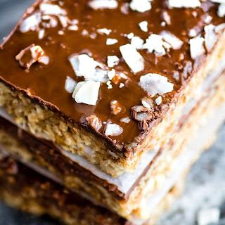 3 Step No Bake Chocolate Coconut Cashew Bars {Vegan, Paleo}