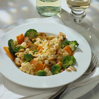 Broccoli-Pasta Quattro Formaggi