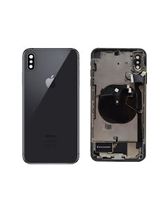 iPhone XS Max Housing with small parts Original Pulled Space Gray