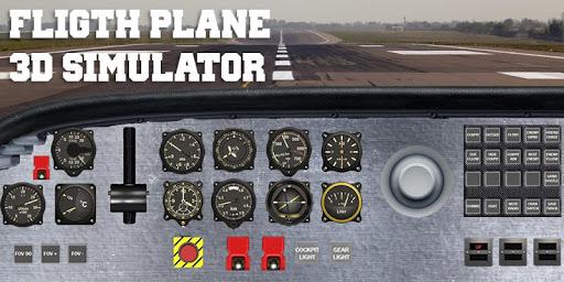 Flight plane 3D simulator