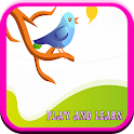 Learning Bird Names For Kids icon