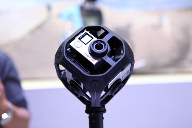 Máy ảnh VR GoPro Omni dạng hình lập phương, mỗi mặt có một ống kính