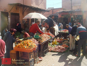 Photo: Marrakech market