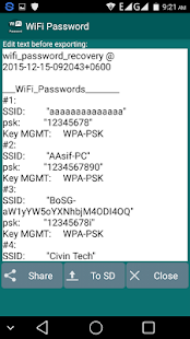 Wifi Password (Root) - Android Apps on Google Play