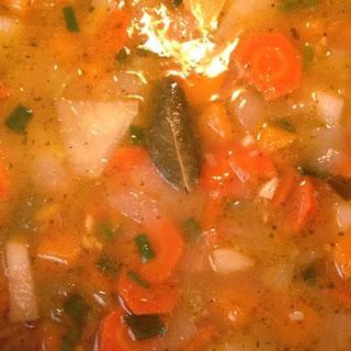 Butternut Squash and Turnip Soup.