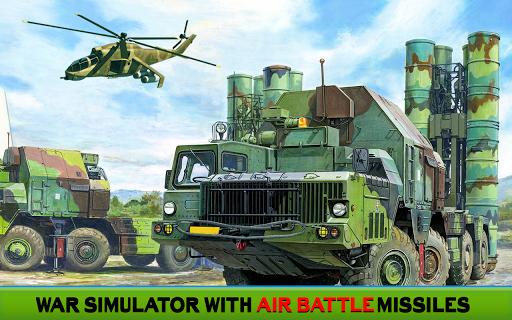 Télécharger Gratuit Missile Attaque Et Ultime Guerre - un camion Jeux APK MOD (Astuce) screenshots 1