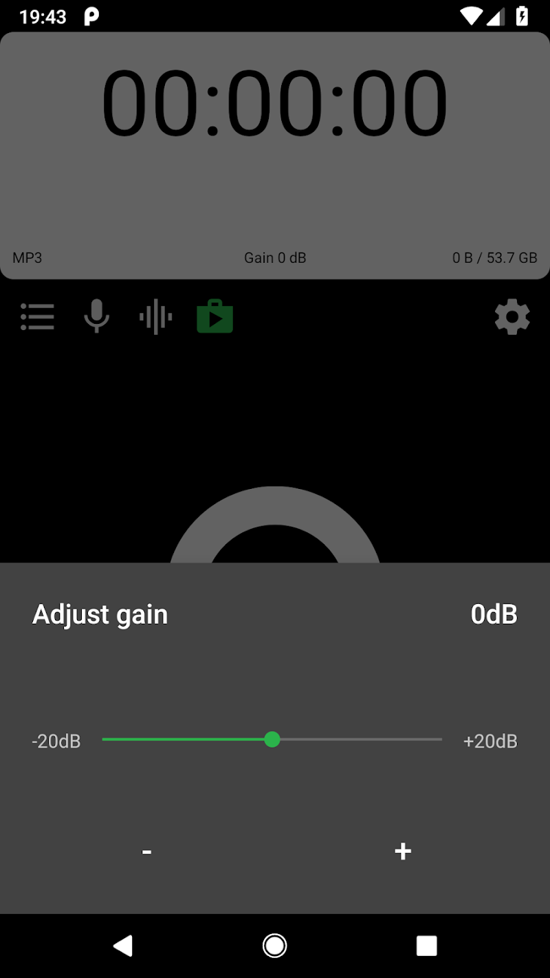 MP3 Voice and Audio Recorder - ASR  (Ad free) Screenshot 2