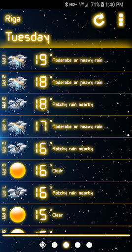 Weather Neon  screenshots 3