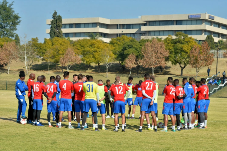 SuperSport United players during the SuperSport United media open day at Megawatt Park on June 21, 2017 in Johannesburg, South Africa.