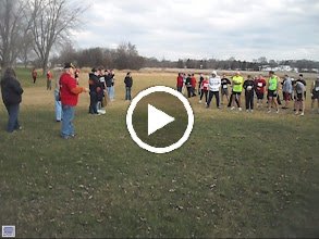 Video: last minute instruction for todays run and please don't laugh at the starting whisle oK. lol As Runner # 766 is waving to everyone saying