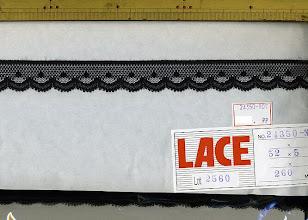 Photo: №24350-907ラッセル黒:巾23mm