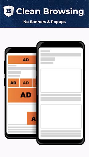 BLU Internet Browser :AdBlock,Light,Secure & Fast screenshot 2