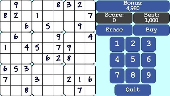 Sudoku Breaktime- screenshot thumbnail