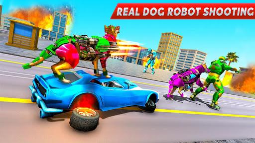 Dog Robot Transform Moto Robot Transformation Game filehippodl screenshot 6