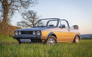 Volkswagen Golf Mk1 Cabrio Rent Greater London