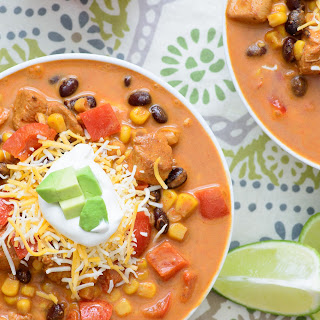 Baja Chicken Enchilada Soup.