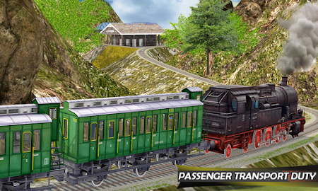 Tourist Train Hill Driving 1.1 screenshot 1660462