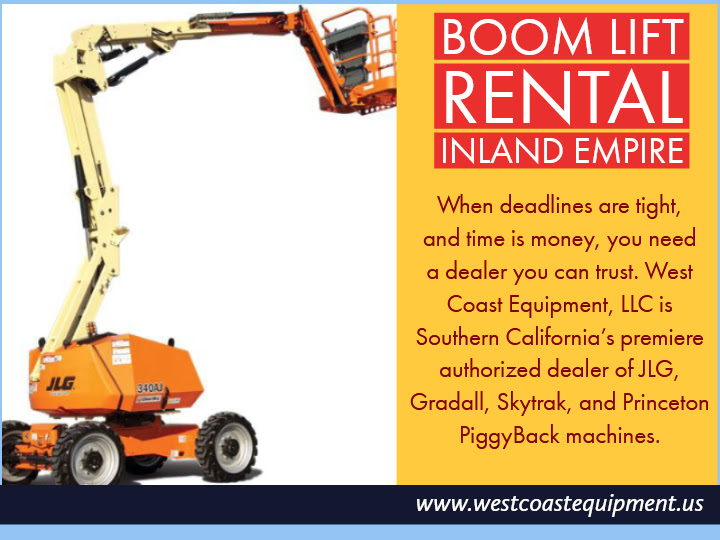 Boom Lift Rental Inland Empire