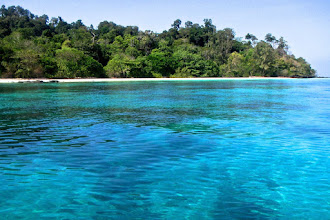 Photo: the beautiful clear water of Kok Rok