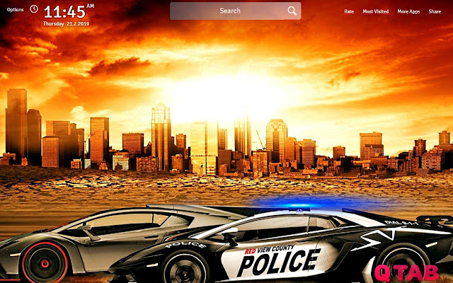 Need For Speed Wallpapers Theme Game New Tab