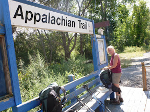 Photo: Appalachian Trail Railroad station