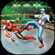 Superhero Wrestling Ring Battle Arena Fighter