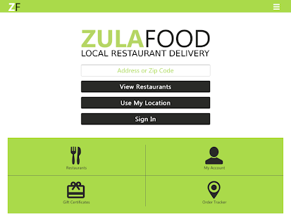 ZULAFOOD- screenshot thumbnail