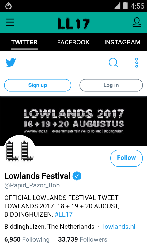 Lowlands Festival 2017- screenshot