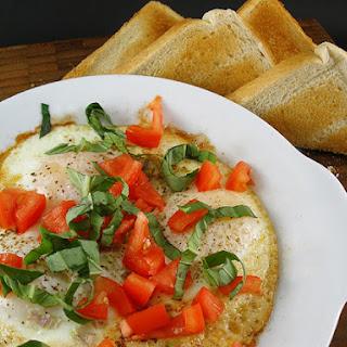 Tomato Basil Egg Bake Recipes