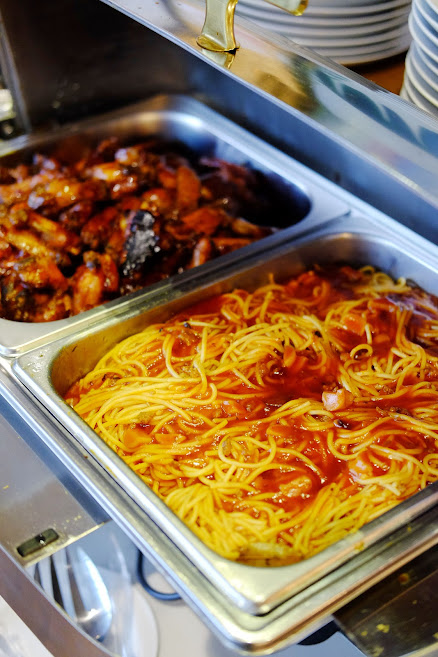 Pasta & Chicken Wing