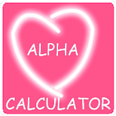 Alpha Love Calculator
