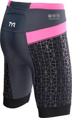 "TYR Competitor 8"" Women's Short: Black alternate image 2"