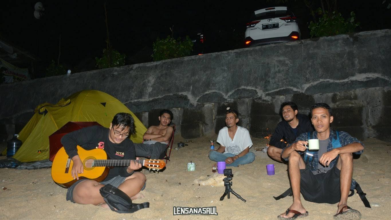 Camping di pok tunggal